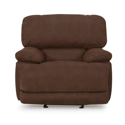 Rankin Power Recliner Upholstery: Brown