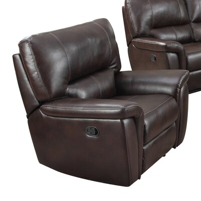 Galaxy Recliner Upholstery: Burgundy