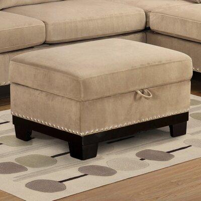 Opulence Storage Ottoman Upholstery: Taupe