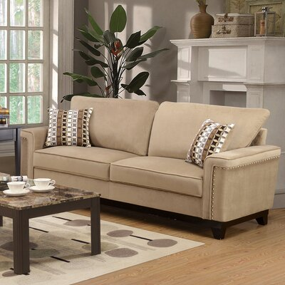 Opulence Sofa Upholstery: Taupe
