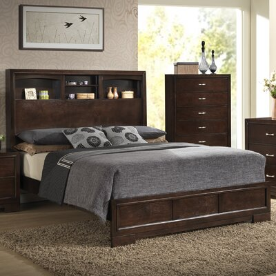 Tahoe Platform Bed Size: King