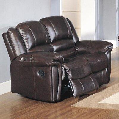 CST39160 28021542 CST39160 Wildon Home Sutton Top Grain Leather Reclining Loveseat