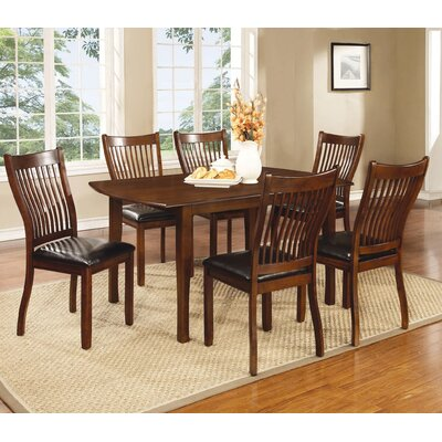 Wildon Home Sierra Group Dining Table - Finish: Reddish Brown