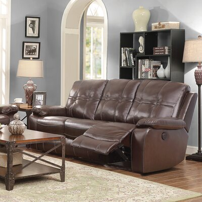 CST39656 28185201 CST39656 Wildon Home Holloway Motion Leather Reclining Sofa
