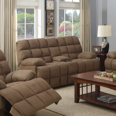 CST39840 28185387 CST39840 Wildon Home Motion Reclining Loveseat