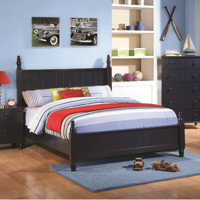 Furniture-Zachary Panel Bed Size Twin