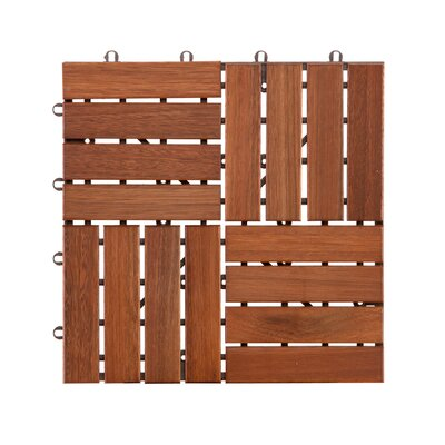 Nancy Wood 11.75 x 11.75 Floor Deck Tile