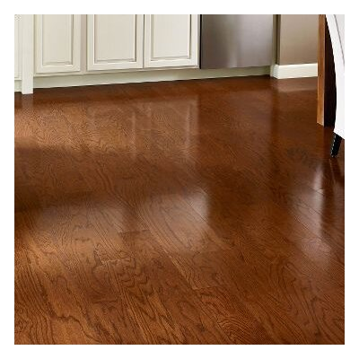 5 Engineered Oak Hardwood Flooring in Berry Stained