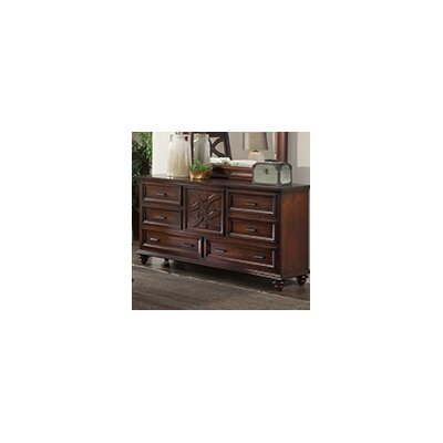 Cayman 6 Drawer Standard Dresser