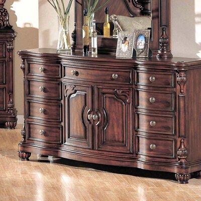 Corina 9 Drawer Combo Dresser
