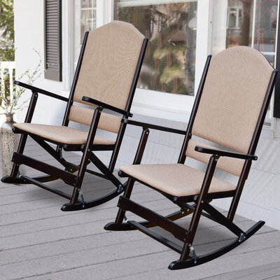 solid wood folding rocking chairs nfl furniture big daddy leather nfl ...