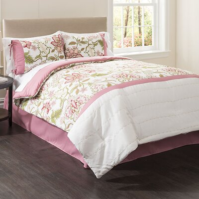 Margate 4 Piece Full Comforter Set Size: Full