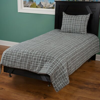 4 Piece Comforter Set Size: Twin