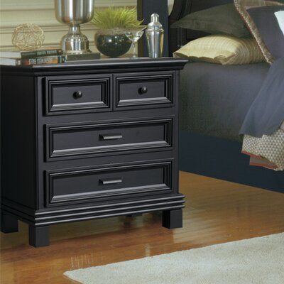Scarlett 3 Drawer Nightstand