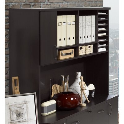 42.25 H x 42.25 W Desk Hutch Finish: Coffee