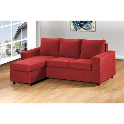 Wildon Home 2068-RD Reversible Chaise Sectional Upholstery