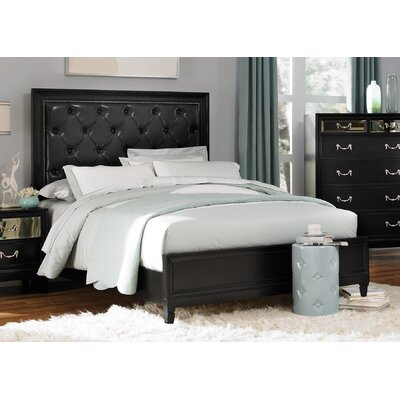 Devine Upholstered Platform Bed Size: King