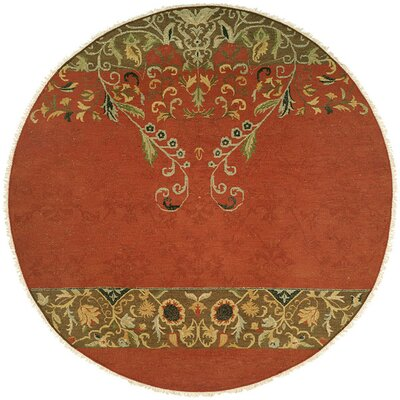 Iquique Hand-Woven Red/Green Area Rug Rug Size: Rectangle 4 x 6