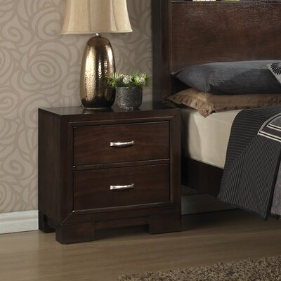 Tahoe 2 Drawer Nightstand