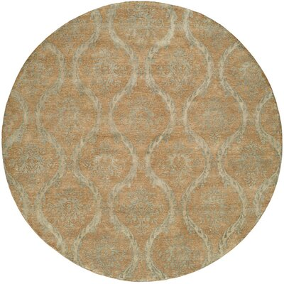 Nicaragua Hand-Knotted Brown/Blue Area Rug Rug Size: Rectangle 10 x 14