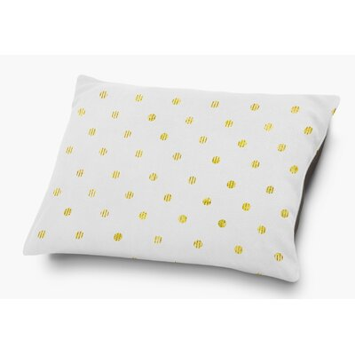Victoire Pet Pillow with Super Plush Poly Top Color: Yellow