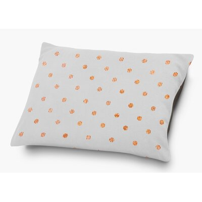 Victoire Pet Pillow with Super Plush Poly Top Color: Orange