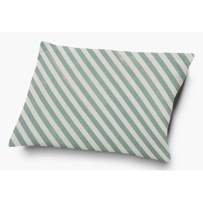 Mellina Pet Pillow with Super Plush Poly Top Color: Green