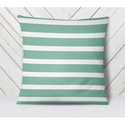 Saybrook Throw Pillow Size: 26 H x 26 W, Color: Green