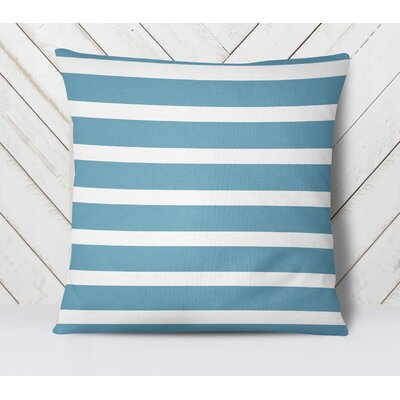 Saybrook Throw Pillow Size: 18 H x 18 W, Color: Blue