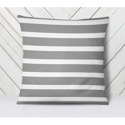 Saybrook Throw Pillow Size: 26 H x 26 W, Color: Gray