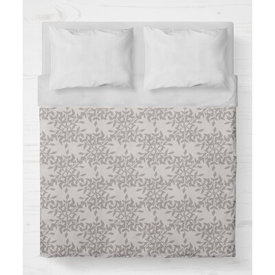 Palmyra Lightweight Duvet Cover Size: Twin, Color: Plum