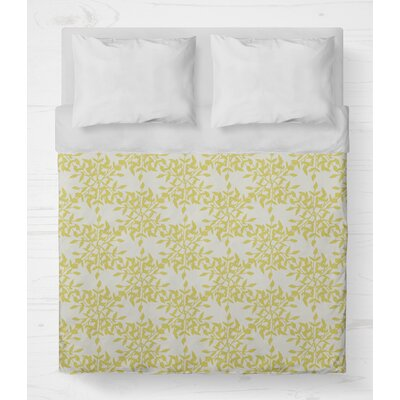 Palmyra Lightweight Duvet Cover Size: Twin, Color: Yellow