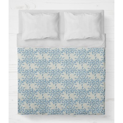Palmyra Lightweight Duvet Cover Size: Queen, Color: Blue