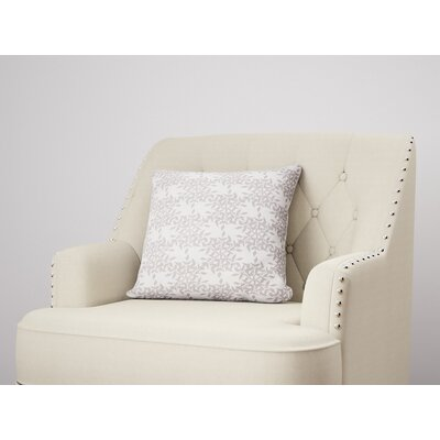 Palmyra Throw Pillow Size: 16 H x 16 W, Color: Plum