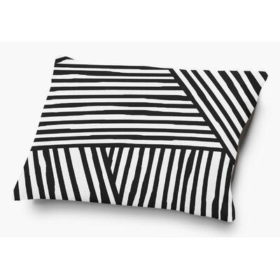 Orion Pet Pillow with Super Plush Poly Top Color: Black