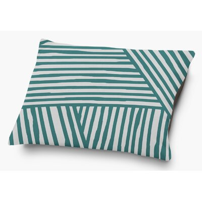 Orion Pet Pillow with Super Plush Poly Top Color: Teal