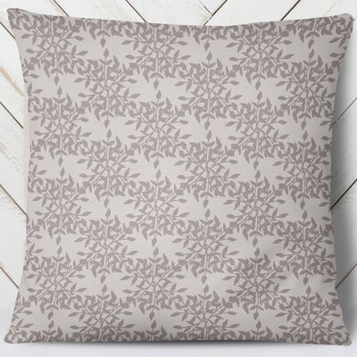 Palmyra Throw Pillow Size: 18 H x 18 W, Color: Plum