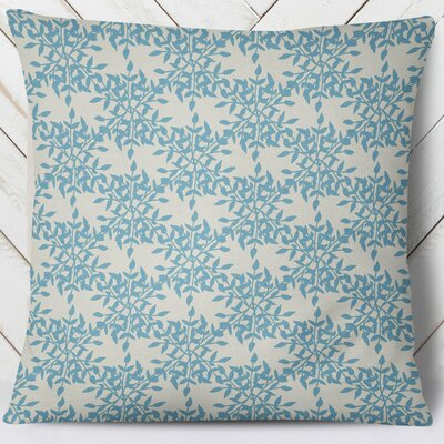 Palmyra Throw Pillow Size: 26 H x 26 W, Color: Blue
