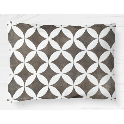 Persephone Lightweight Pillow Sham Size: King, Color: Brown