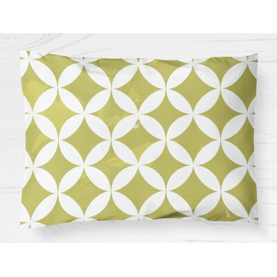 Persephone Lightweight Pillow Sham Size: Standard, Color: Yellow