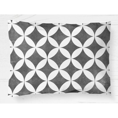 Persephone Lightweight Pillow Sham Size: King, Color: Black