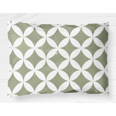Persephone Lightweight Pillow Sham Size: King, Color: Green