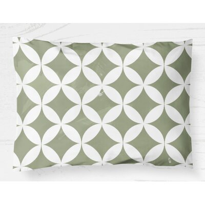 Persephone Synthetic Pillow Cover Size: 20 H x 40 W, Color: Green