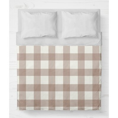 Ophelie Lightweight Duvet Cover Color: Pink, Size: Queen
