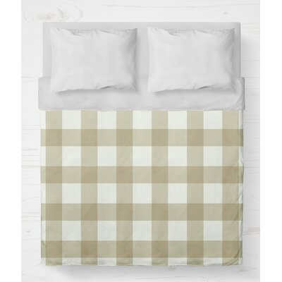 Ophelie Lightweight Duvet Cover Size: King, Color: Yellow