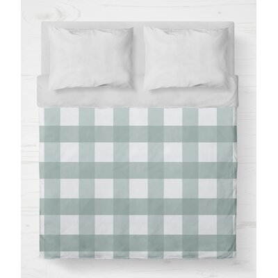 Ophelie Lightweight Duvet Cover Size: King, Color: Teal