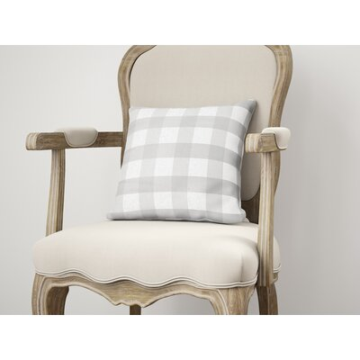 Ophelie Throw Pillow Color: Gray, Size: 26 H x 26 W
