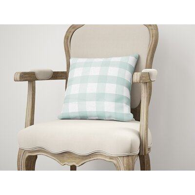 Wysocki Throw Pillow Size: 16 H x 16 W, Color: Teal