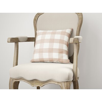 Ophelie Throw Pillow Size: 26 H x 26 W, Color: Pink