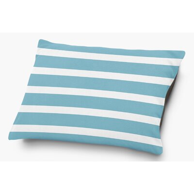 Saybrook Pet Pillow with Super Plush Poly Top Color: Blue